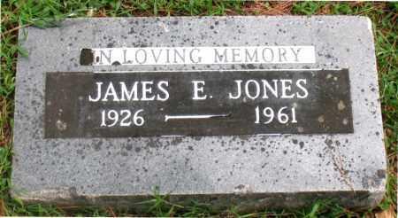 JONES, JAMES E - Carroll County, Arkansas | JAMES E JONES - Arkansas Gravestone Photos
