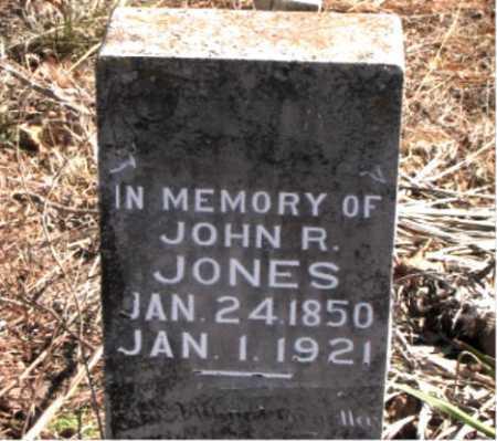 JONES, JOHN  R. - Carroll County, Arkansas | JOHN  R. JONES - Arkansas Gravestone Photos