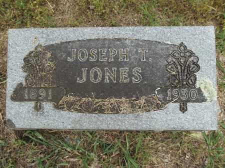 JONES, JOSEPH T - Carroll County, Arkansas | JOSEPH T JONES - Arkansas Gravestone Photos