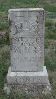 JONES, JOHN H P REV - Carroll County, Arkansas | JOHN H P REV JONES - Arkansas Gravestone Photos