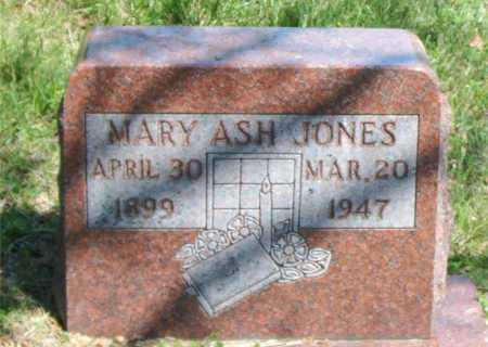 ASH JONES, MARY - Carroll County, Arkansas   MARY ASH JONES - Arkansas Gravestone Photos
