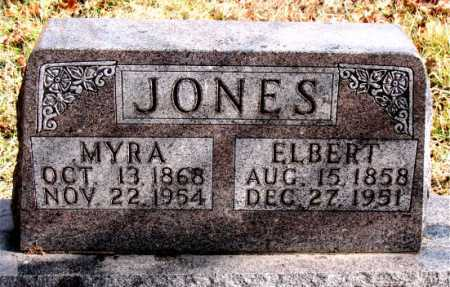 JONES, MYRA - Carroll County, Arkansas | MYRA JONES - Arkansas Gravestone Photos