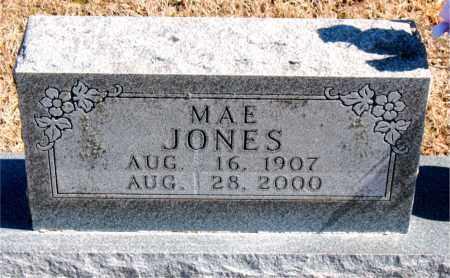 JONES, MAE - Carroll County, Arkansas   MAE JONES - Arkansas Gravestone Photos