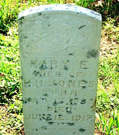 JONES, MARY E. - Carroll County, Arkansas | MARY E. JONES - Arkansas Gravestone Photos