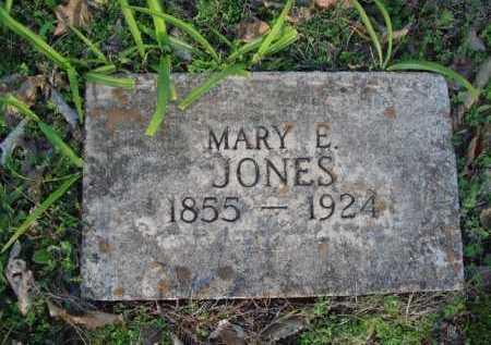 JONES, MARY E. - Carroll County, Arkansas   MARY E. JONES - Arkansas Gravestone Photos