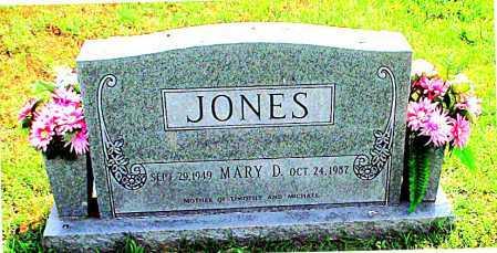 JONES, MARY DORTHELLA - Carroll County, Arkansas | MARY DORTHELLA JONES - Arkansas Gravestone Photos