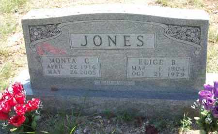 JONES, MONTA C - Carroll County, Arkansas | MONTA C JONES - Arkansas Gravestone Photos