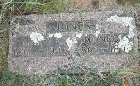 JONES, MARY E - Carroll County, Arkansas | MARY E JONES - Arkansas Gravestone Photos