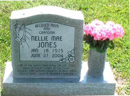 JONES, NELLIE MAE - Carroll County, Arkansas   NELLIE MAE JONES - Arkansas Gravestone Photos
