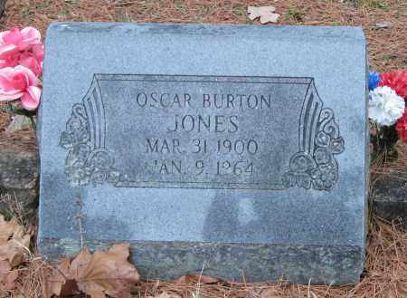 JONES, OSCAR BURTON - Carroll County, Arkansas | OSCAR BURTON JONES - Arkansas Gravestone Photos