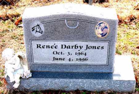 JONES, RENEE DARBY - Carroll County, Arkansas | RENEE DARBY JONES - Arkansas Gravestone Photos