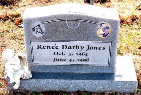 JONES, RENEE DARBY - Carroll County, Arkansas   RENEE DARBY JONES - Arkansas Gravestone Photos