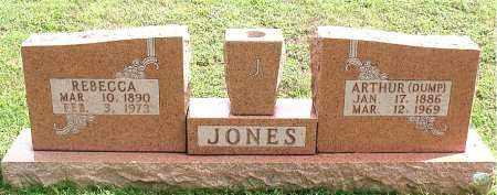 "JONES, ARTHUR ""DUMP"" - Carroll County, Arkansas | ARTHUR ""DUMP"" JONES - Arkansas Gravestone Photos"