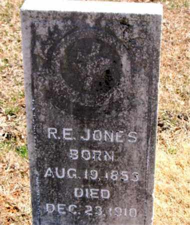 JONES, R.  E. - Carroll County, Arkansas   R.  E. JONES - Arkansas Gravestone Photos
