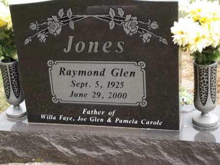 JONES, RAYMOND GLEN - Carroll County, Arkansas | RAYMOND GLEN JONES - Arkansas Gravestone Photos