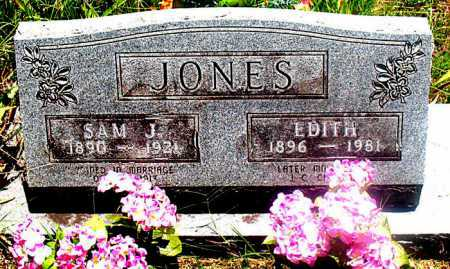 JONES, SAM J - Carroll County, Arkansas | SAM J JONES - Arkansas Gravestone Photos