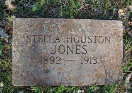 HOUSTON JONES, STELLA - Carroll County, Arkansas   STELLA HOUSTON JONES - Arkansas Gravestone Photos