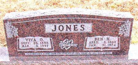 JONES, BEN H. - Carroll County, Arkansas | BEN H. JONES - Arkansas Gravestone Photos
