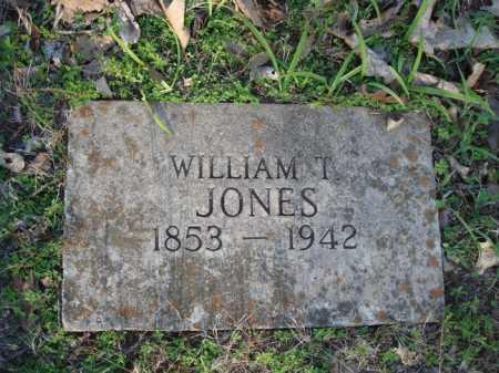 JONES, WILLIAM T. - Carroll County, Arkansas | WILLIAM T. JONES - Arkansas Gravestone Photos