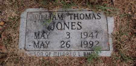 JONES, WILLIAM THOMAS - Carroll County, Arkansas | WILLIAM THOMAS JONES - Arkansas Gravestone Photos