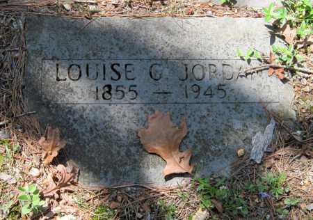 JORDAN, LOUISE G - Carroll County, Arkansas   LOUISE G JORDAN - Arkansas Gravestone Photos