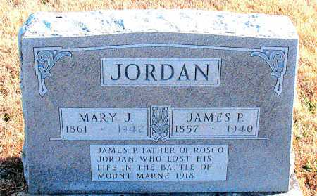JORDAN, JAMES P - Carroll County, Arkansas | JAMES P JORDAN - Arkansas Gravestone Photos