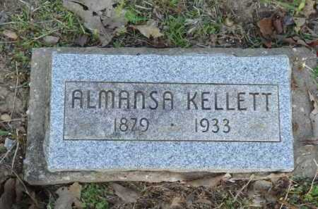 KELLETT, ALMANSA - Carroll County, Arkansas   ALMANSA KELLETT - Arkansas Gravestone Photos