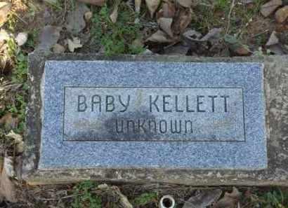 KELLETT, BABY - Carroll County, Arkansas | BABY KELLETT - Arkansas Gravestone Photos
