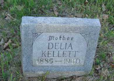 KELLETT, DELIA - Carroll County, Arkansas   DELIA KELLETT - Arkansas Gravestone Photos