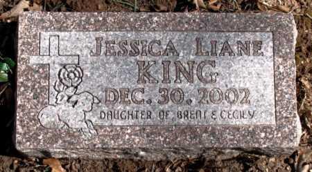 KING, JESSICA LIANE - Carroll County, Arkansas | JESSICA LIANE KING - Arkansas Gravestone Photos