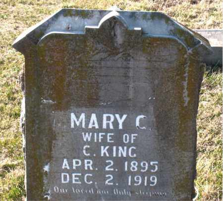 KING, MARY  C. - Carroll County, Arkansas | MARY  C. KING - Arkansas Gravestone Photos