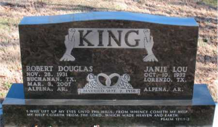 KING, ROBERT DOUGLAS - Carroll County, Arkansas | ROBERT DOUGLAS KING - Arkansas Gravestone Photos