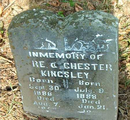 KINGSLEY, ROSWELL - Carroll County, Arkansas | ROSWELL KINGSLEY - Arkansas Gravestone Photos