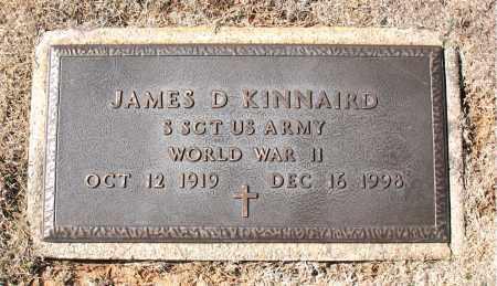 KINNAIRD (VETERAN WWII), JAMES  D - Carroll County, Arkansas   JAMES  D KINNAIRD (VETERAN WWII) - Arkansas Gravestone Photos