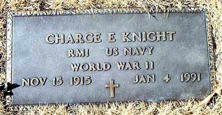 KNIGHT  (VETERAN WWII), CHARGE E. - Carroll County, Arkansas | CHARGE E. KNIGHT  (VETERAN WWII) - Arkansas Gravestone Photos