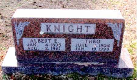 KNIGHT, THEO - Carroll County, Arkansas | THEO KNIGHT - Arkansas Gravestone Photos