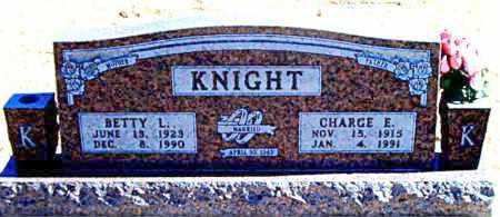 KNIGHT, BETTY L. - Carroll County, Arkansas | BETTY L. KNIGHT - Arkansas Gravestone Photos