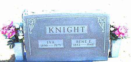 KNIGHT, RENE E. - Carroll County, Arkansas | RENE E. KNIGHT - Arkansas Gravestone Photos