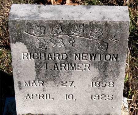 LARIMER, RICHARD NEWTON - Carroll County, Arkansas | RICHARD NEWTON LARIMER - Arkansas Gravestone Photos