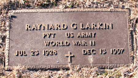 LARKIN  (VETERAN WWII), RAYNARD G. - Carroll County, Arkansas | RAYNARD G. LARKIN  (VETERAN WWII) - Arkansas Gravestone Photos
