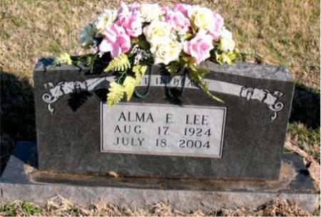 LEE., ALMA  E. - Carroll County, Arkansas | ALMA  E. LEE. - Arkansas Gravestone Photos