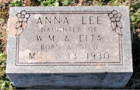 LEE, ANNA - Carroll County, Arkansas | ANNA LEE - Arkansas Gravestone Photos