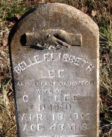 LEE, BELLE ELISBETH - Carroll County, Arkansas | BELLE ELISBETH LEE - Arkansas Gravestone Photos