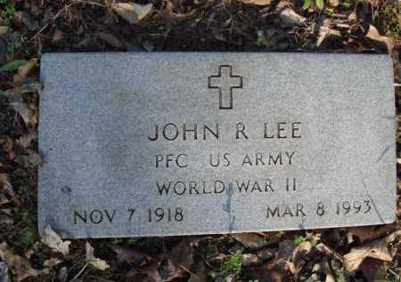 LEE  (VETERAN WWII), JOHN R. - Carroll County, Arkansas | JOHN R. LEE  (VETERAN WWII) - Arkansas Gravestone Photos
