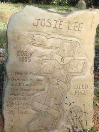 LEE, JOSIE - Carroll County, Arkansas | JOSIE LEE - Arkansas Gravestone Photos