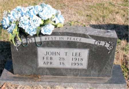 LEE, JOHN  T. - Carroll County, Arkansas | JOHN  T. LEE - Arkansas Gravestone Photos
