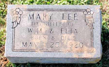 LEE, MARY - Carroll County, Arkansas   MARY LEE - Arkansas Gravestone Photos