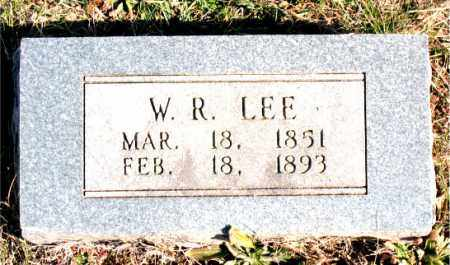 LEE, W.R. - Carroll County, Arkansas | W.R. LEE - Arkansas Gravestone Photos