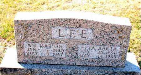 LEE, ETTA  ANETA - Carroll County, Arkansas | ETTA  ANETA LEE - Arkansas Gravestone Photos