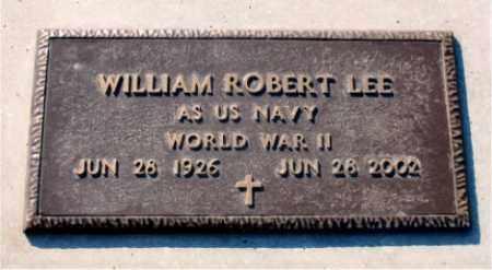 LEE  (VETERAN WWII), WILLIAM ROBERT - Carroll County, Arkansas | WILLIAM ROBERT LEE  (VETERAN WWII) - Arkansas Gravestone Photos